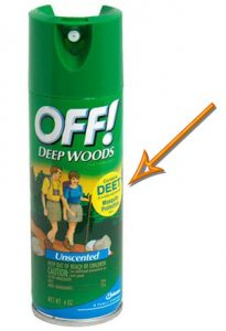 Off Deep Woods Bug Spray with DEET