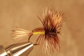 Yellow Humpy Fly Pattern