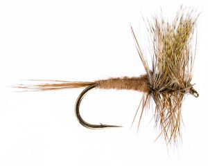 March Brown Dry Fly Pattern