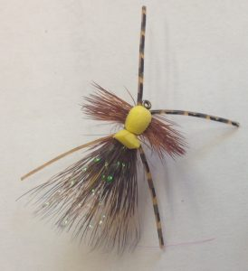 Rob's Hellbender Dry Fly Pattern