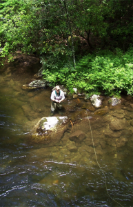 Smoky Mountain Fisherman