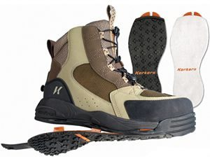 Korkers Interchangeable Wading Boot Soles