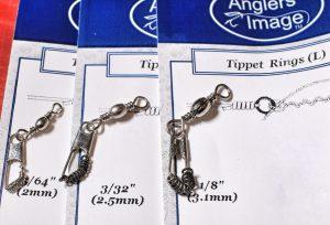 Various Tippet Ring Sizes