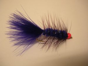 Purple Wooly Bugger Fly Pattern