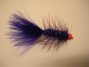 Purple Wooly Bugger Fly Pattern