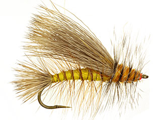 Yellow Stimulator Fly Pattern