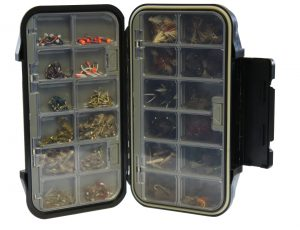 Fly Box with Compartments