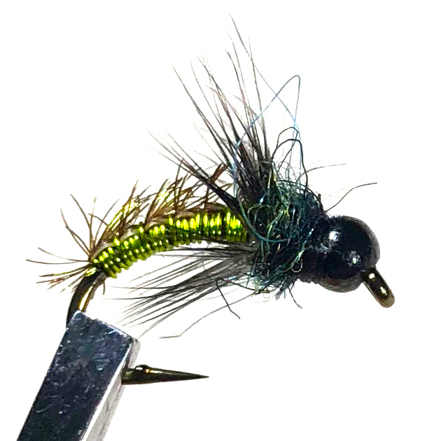 Soft Hackle Wired Caddis Fly Pattern
