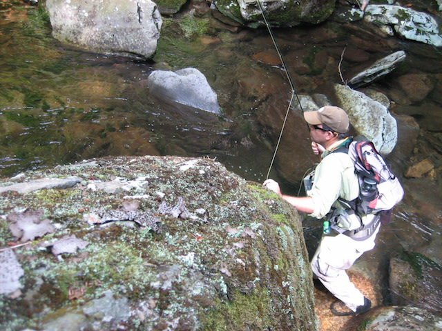 Fishing the Smoky Mountain High Country
