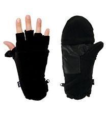 Fold-back Fingerless Mittens