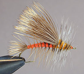 Orange Stimulator Fly Pattern