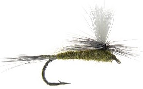 Parachute Blue Wing Olive Fly Pattern