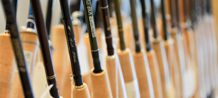 An Assortment of Fly Rods